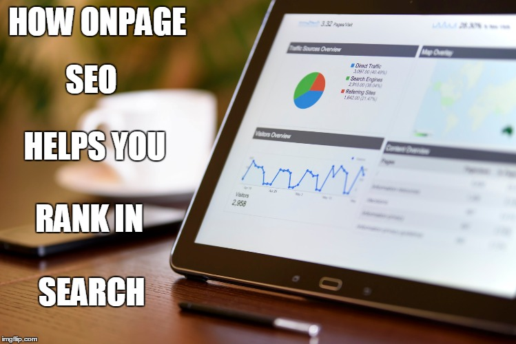 An image of on page SEO
