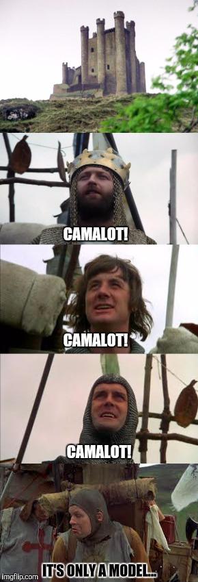 Monty Python Meme Generator : monty, python, generator, Camalot