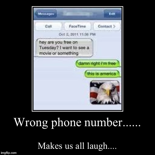 Laugh Factory Wrong Number