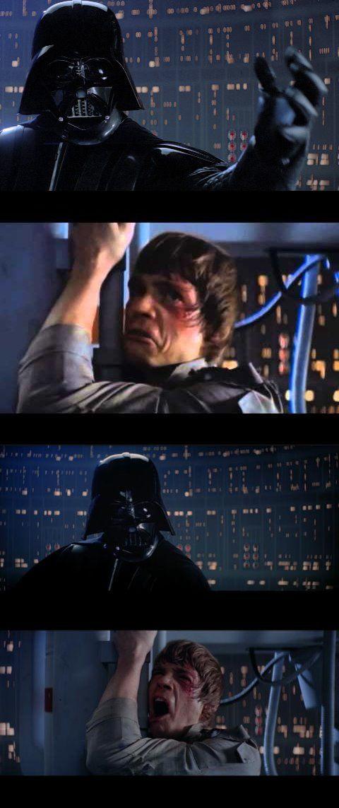 Darth Vader Noooo Meme : darth, vader, noooo, Darth, Vader, Extended, Blank, Template, Imgflip