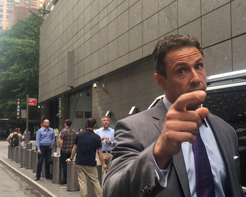 Image result for chris cuomo angry