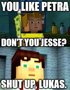 Minecraft Story Mode Images Imgflip