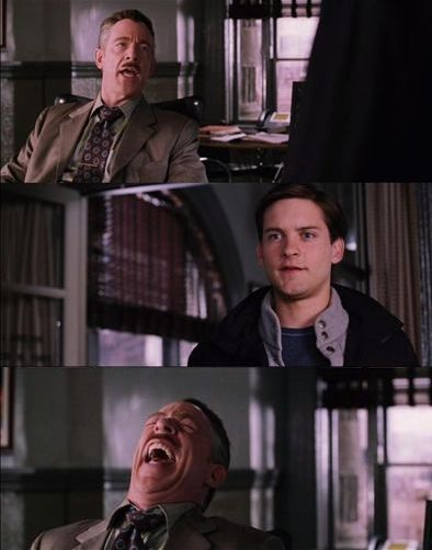 Spiderman Laugh Meme : spiderman, laugh, Spiderman, Laugh, Blank, Template, Imgflip
