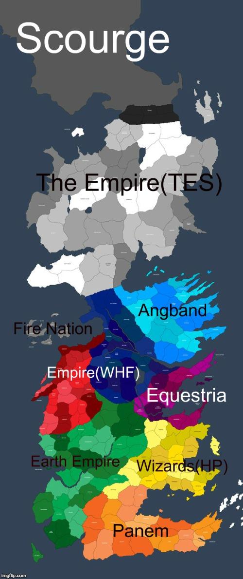 Legend World Korra Map