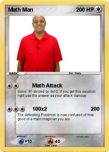 Xtramath Guy Pokemon