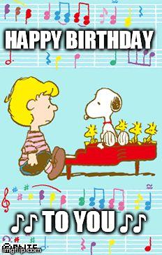 Image result for Peanuts Happy Birthday Photos