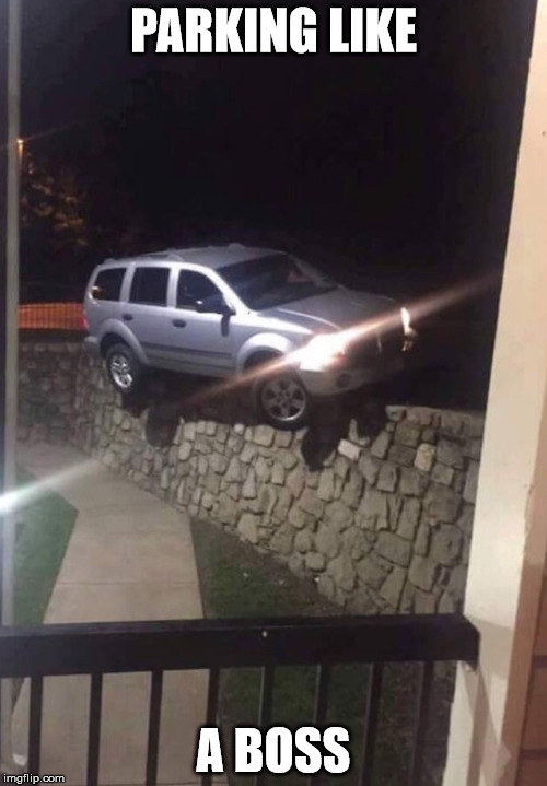 PARKING FAIL Imgflip
