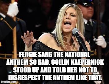 Image Result For Fergie National Anthem