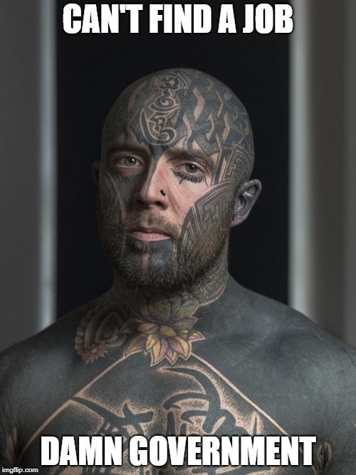 Face Tattoo Meme : tattoo, Tattoo, Memes, Imgflip
