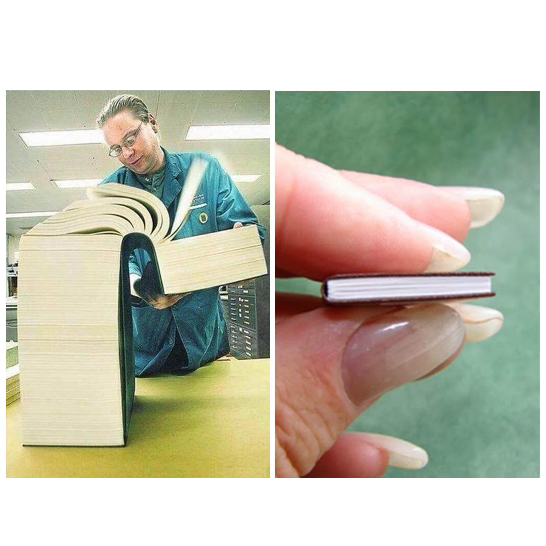 Big Book Vs Little Book Blank Template