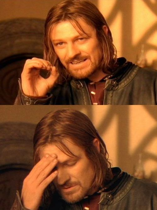 One Does Not Simply Meme Blank : simply, blank, Simply, Facepalm, Blank, Template, Imgflip