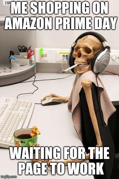 Prime Day Meme : prime, Skull, Computer, Imgflip
