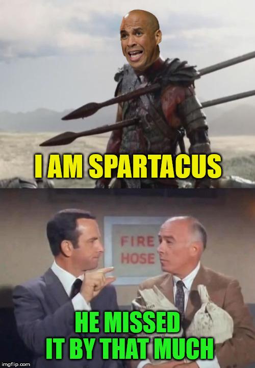 Cory Booker Spartacus Meme : booker, spartacus, Booker, Spartacus, Imgflip