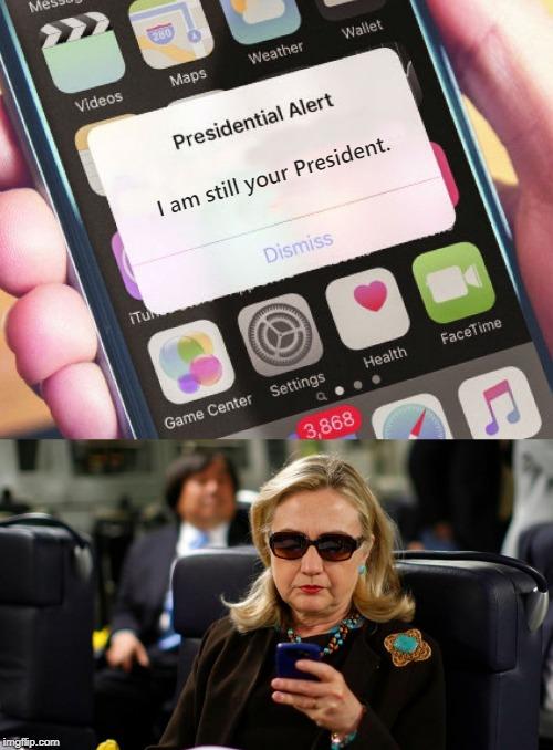 Presidential Alert Meme Template : presidential, alert, template, Presidential, Alert, Imgflip