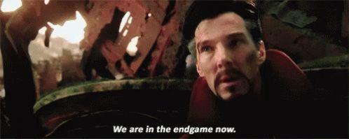 estamos no final do jogo agora