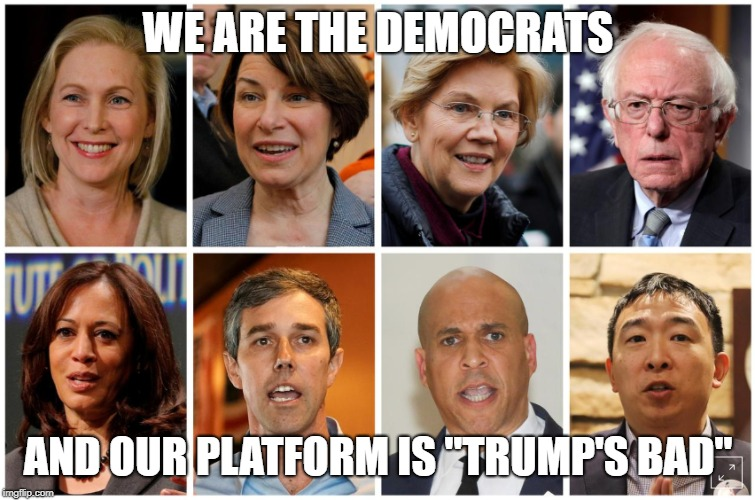 Image result for democratic candidates memes