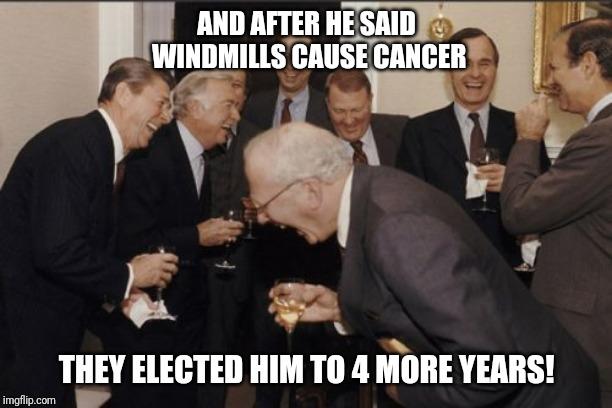 trump says windmills cause