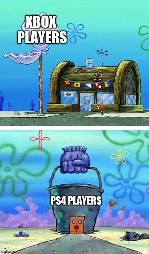 Ps4 Players Meme : players, Krusty, Bucket, Blank, Imgflip