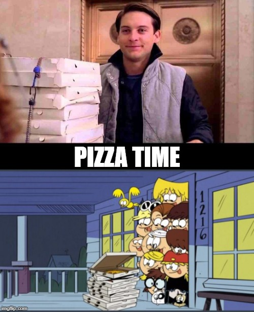 Pizza Time Spiderman Meme : pizza, spiderman, Pizza, Imgflip