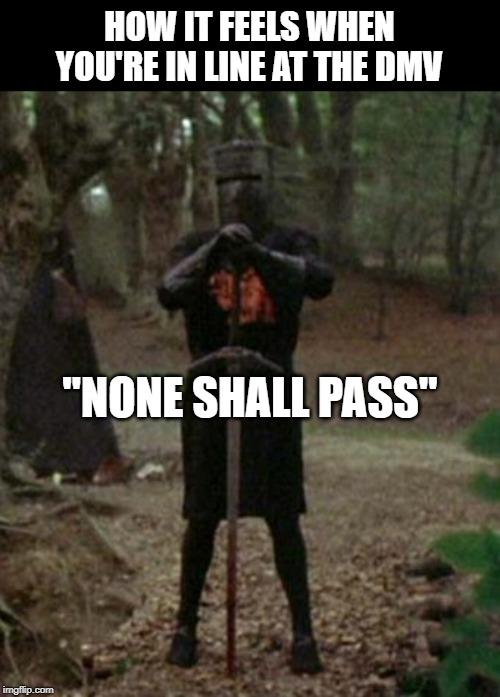 Monty Python Meme Generator : monty, python, generator, Ain't, Going, Nowhere, Imgflip