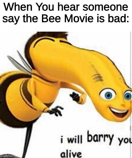 I Will Barry You Alive : barry, alive, Barry, Alive, Memes, Imgflip
