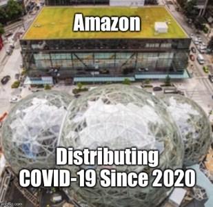 Image result for amazon coronavirus meme