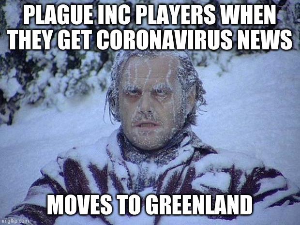 Jack Nicholson The Shining Snow Meme - Imgflip
