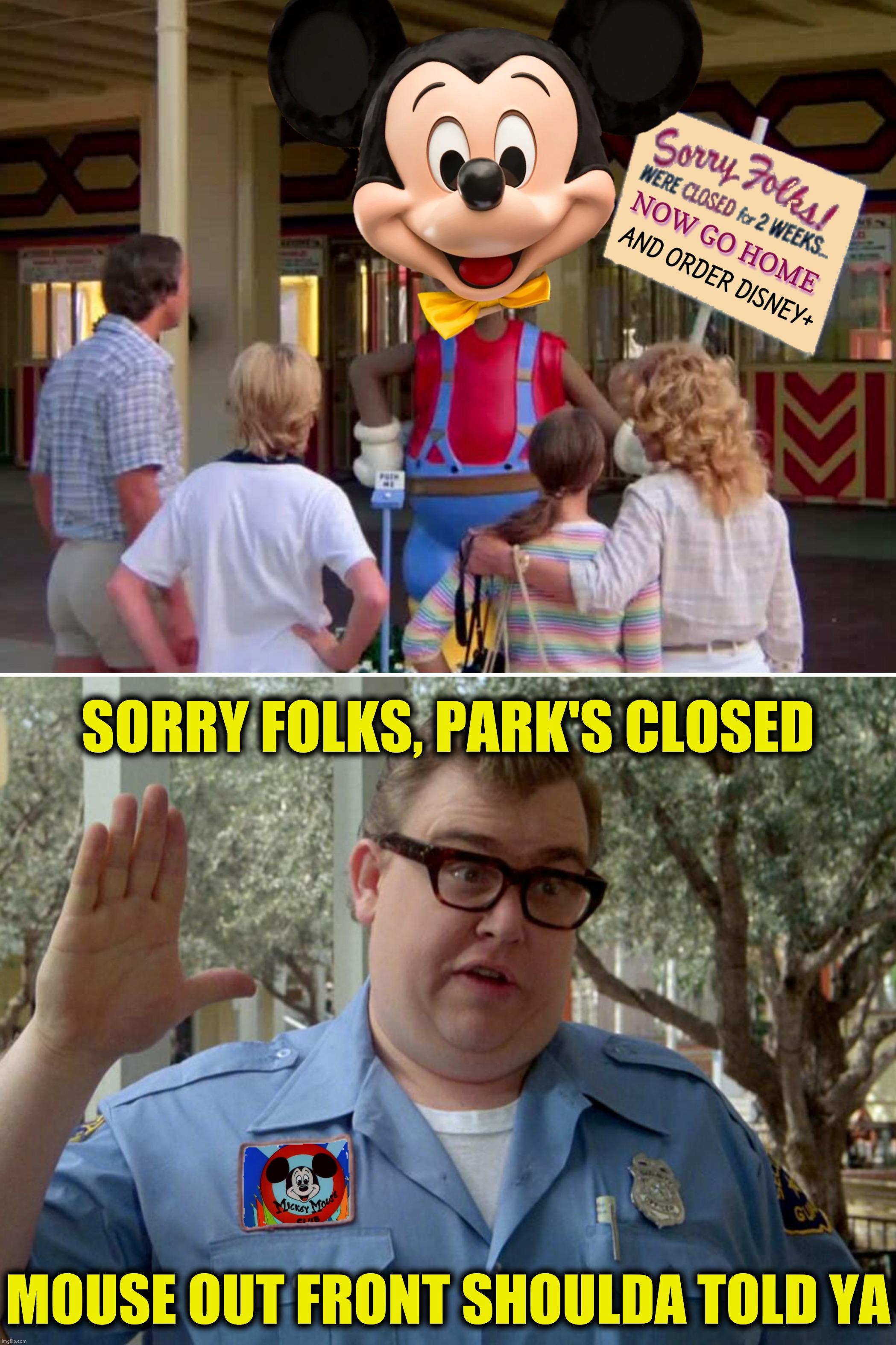 Sorry Folks Parks Closed Meme : sorry, folks, parks, closed, Photoshop, Sunday, Presents:, Walterworld, Imgflip