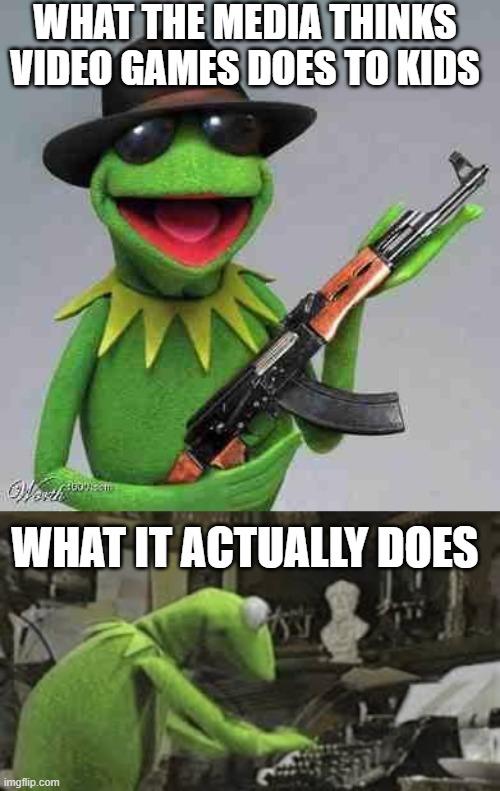 Kermit Typing Gif : kermit, typing, MEMES_OVERLOAD, Kermit, Typing, Memes, Imgflip