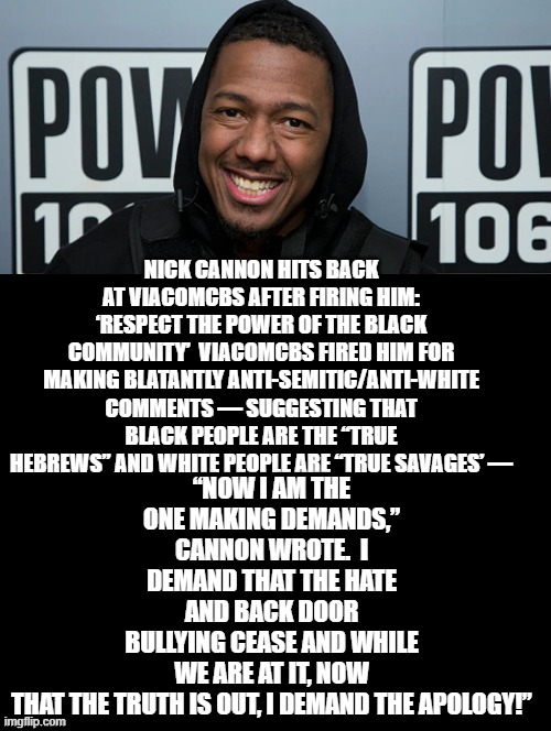 Nick Cannon Meme : cannon, Cannon!, You're, FIRED!, Imgflip