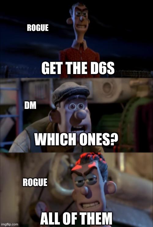Rogue Dnd Memes : rogue, memes, Dungeons-and-Dragons, Memes, Imgflip