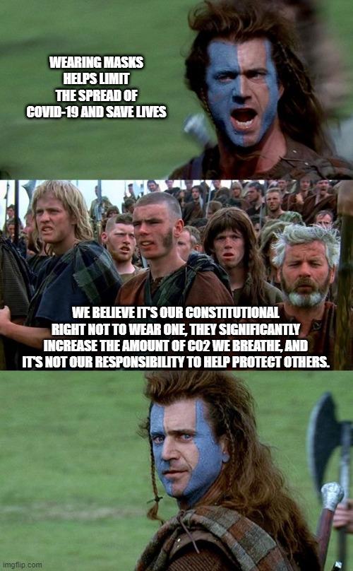 Mel Gibson Freedom Meme : gibson, freedom, Braveheart, Freedom, Speech, Memes, Imgflip