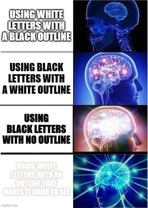 Outline Meme : outline, Expanding, Brain, Imgflip