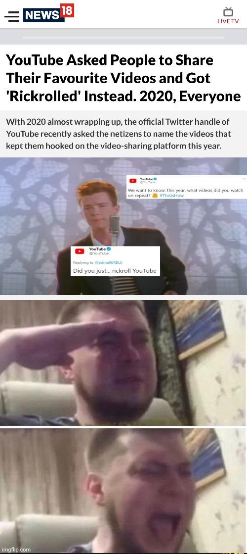 Crying Salute Meme Gif