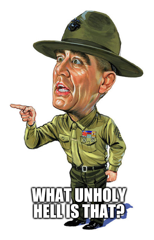 Full Metal Jacket Sergent Hartman : metal, jacket, sergent, hartman, Metal, Jacket, Memes, Imgflip