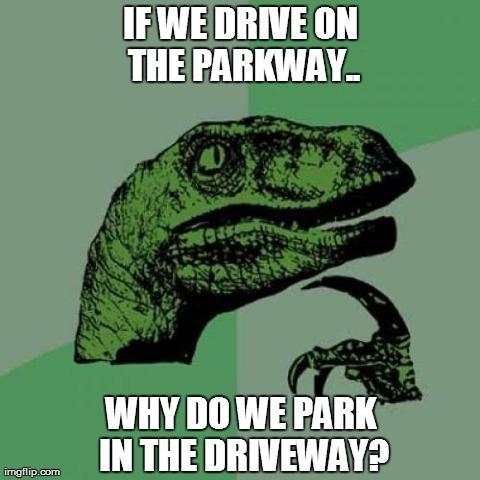 If philosoraptor had a car..