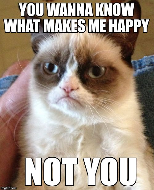 Grumpy Cat wants you to know...