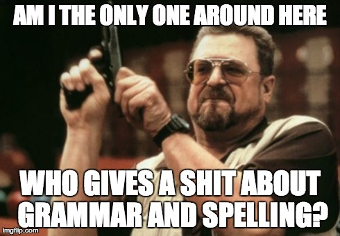 Seriously - Do None of You Speak English?