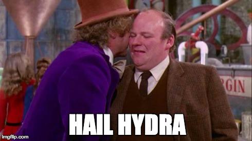 Hail Hydra Will Wonka