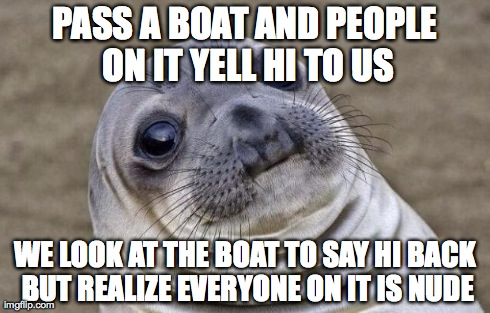 Me and a friend where kayaking on the lake when this happened