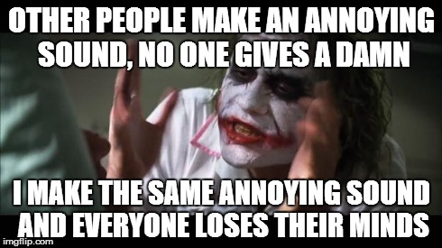 And everybody loses their minds