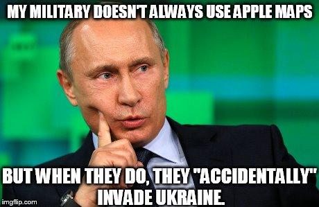 Putin on Russian invasion of Ukraine