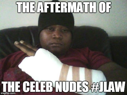 The aftermath of the celebrity Nudes