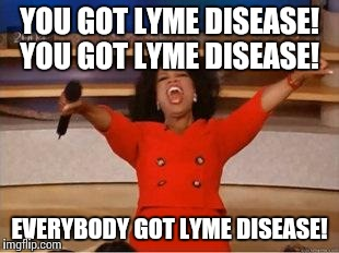 Wordless Wednesday Lyme Edition
