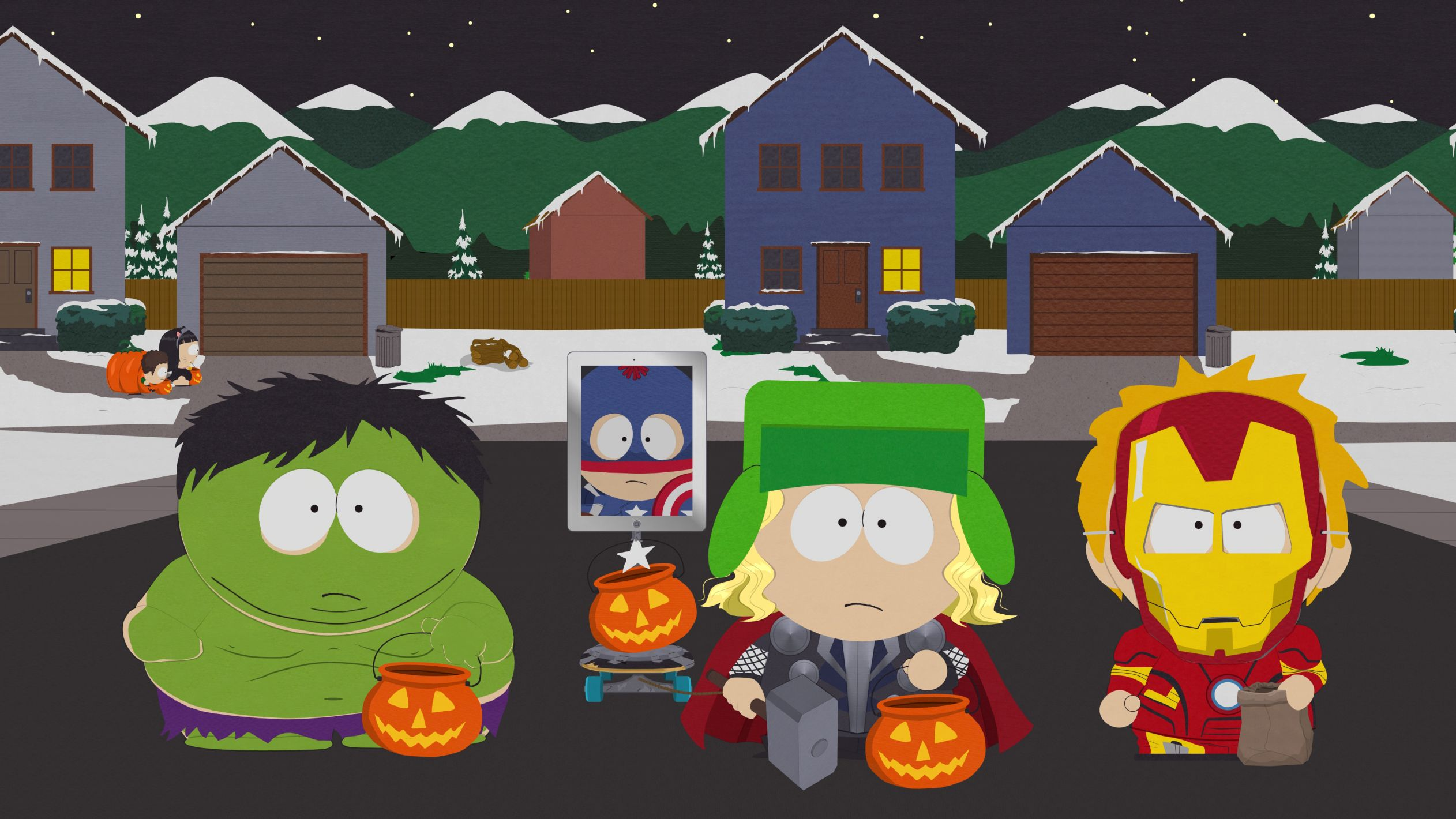 South Park Halloween Template