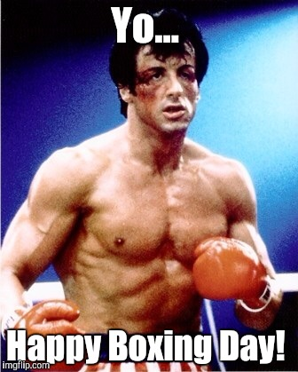 Boxing Day Meme : boxing, Happy, Boxing, Rocky!, Imgflip