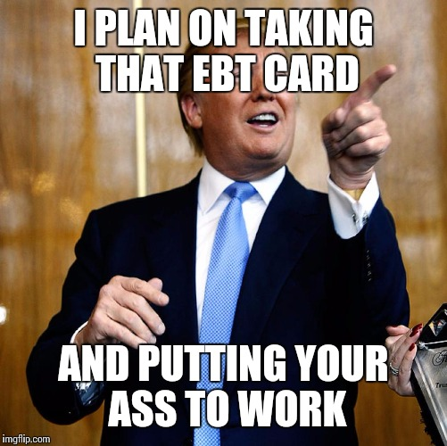 Image result for trump welfare