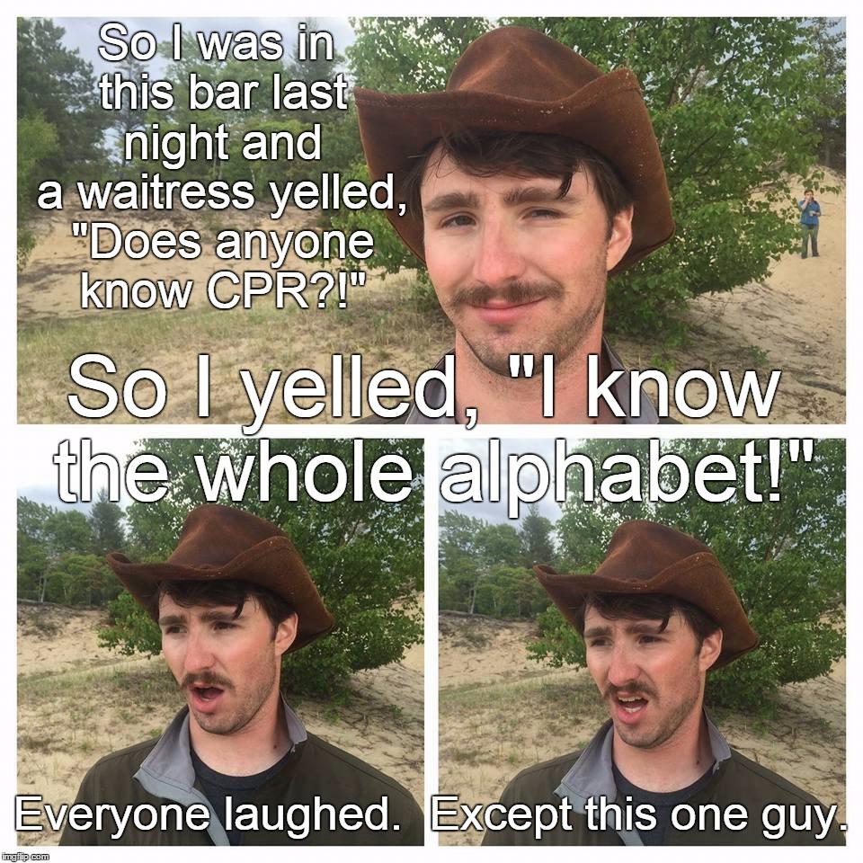 Cpr Textbook Meme