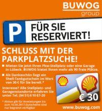 Stellplatz / Garage mieten Stockelsdorf Pohnsdorf bei