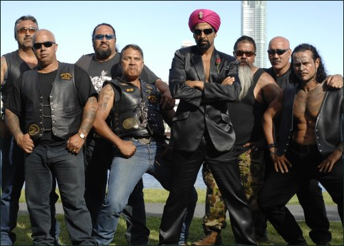 with eight WWE wrestlers from Australia in an action sequence in Vipul